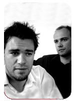 René Sydow und Daniel Hedfeld